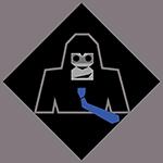 Le gorille en cravate